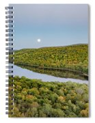 Super Moon Rise Sept. 27, 2015 Spiral Notebook