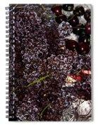 Super Small Grapes Spiral Notebook