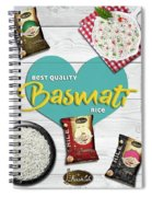 Superior Quality Basmati Rice Importers In New Zealand - Kashish Food Spiral Notebook