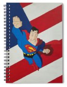 Superman And The Flag Spiral Notebook
