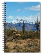 Superstition Snow Spiral Notebook
