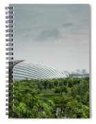 Supertrees At Gardens By The Bay Spiral Notebook