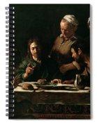 Supper At Emmaus Spiral Notebook