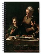 Supper At Emmaus Spiral Notebook