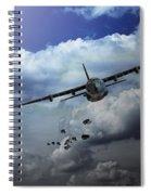 Supply Drop Spiral Notebook