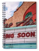 Support The Arts Spiral Notebook