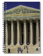 Supreme Court Of The United States Spiral Notebook