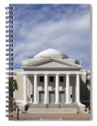 Supreme Courthouse In Tallahassee Florida Spiral Notebook