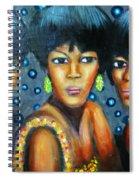 Supremes Spiral Notebook