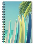 Surfboards Spiral Notebook