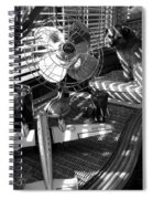 Surburban Safari With Toto Spiral Notebook