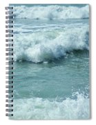 Surf At Duckpool Cornwall Spiral Notebook