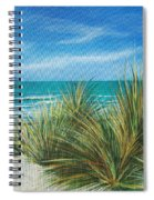 Surf Beach Spiral Notebook