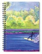 Surf Colorado Spiral Notebook