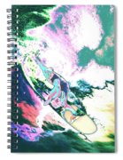 Surfer 2 Spiral Notebook