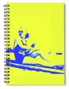 Surfer Girl 1940s Spiral Notebook