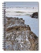 Surfers Waterways Spiral Notebook