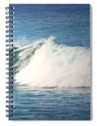 Surfing Asilomar Spiral Notebook