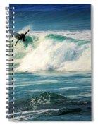 Surfing Asilomar Two Spiral Notebook