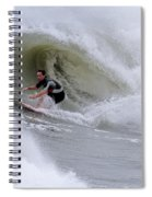 Surfing Bogue Banks 1 Spiral Notebook