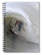 Surfing Bogue Banks 4 Spiral Notebook