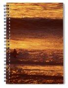 Surfing California Spiral Notebook