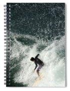 Surfing Hawaii 4 Spiral Notebook