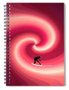 Surfing In The Sunset Two Spiral Notebook