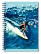 Surfing Legends 12 Spiral Notebook
