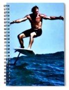 Surfing Legends 5 Spiral Notebook