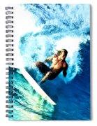 Surfing Legends 9 Spiral Notebook