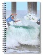 Surfing Sequence Spiral Notebook