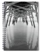 Surfside Pier Exposure Spiral Notebook