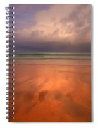 Surin Beach Before The Rain Spiral Notebook
