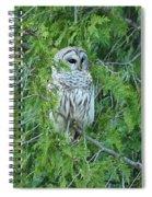 Surprise Visitor II Spiral Notebook