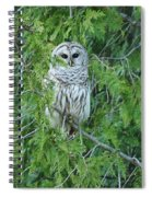 Surprise Visitor  Spiral Notebook
