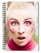 Surprised Face Spiral Notebook