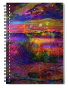 Surreal Angry Cloud Spiral Notebook