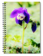 Surreal Columbine Spiral Notebook