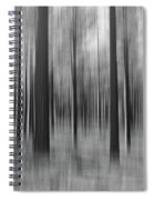 Surreal Forest Abstract. Spiral Notebook
