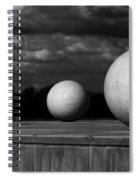 Surreal Globes Spiral Notebook