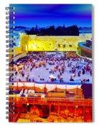 Surreal Jerusalem Art Spiral Notebook