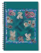 Surreal Lake Art And Poem Spiral Notebook
