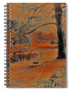 Surreal Langan Park 2 - Mobile Alabama Spiral Notebook