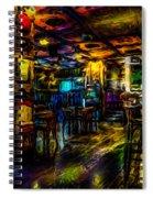 Surreal Old West Bar  Spiral Notebook