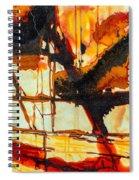 Surrealism In Nature Spiral Notebook