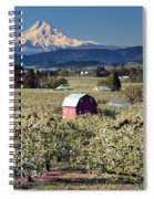 Surrounded By Beauty Spiral Notebook