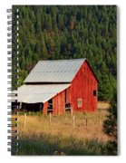 Surrounded By Forest Spiral Notebook