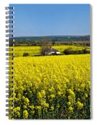Surrounded By Rapeseed Flowers Spiral Notebook
