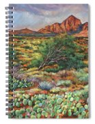 Surrounded By Sedona Spiral Notebook